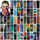 Head/face/mask/neck Bikers Tube Bandana Collar Scarf Beanie Cap Balaclava Unisex
