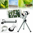 For Cell Phone 18X Monocular HD Zoom Telescope Telephoto Camera Lens + Tripod US