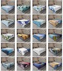 Ambesonne Ocean Theme Flat Sheet Top Sheet Decorative Bedding 6 Sizes