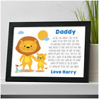 PERSONALISED Birthday Gifts for Daddy Dad Grandad Him from Son Daughter Girl