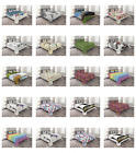 Ambesonne Coverlet Set with Shams Printed Quilted Bed Cover Decorative Bedspread