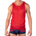 Men's Pistol Pete PPM014 Double Play Tank Red Shirts