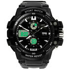 Men's Sports Watch Digital LED Outdoor Shockproof Electronic Wrist Watches Gift image
