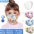 Washable Reusable Kids Mouth Mask With Valve Filter Breathable Child Face Masks