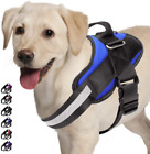 Adjustable Dog Harness, No Pull Dog Harness Outdoor Vest with Easy Control Handl