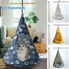 Removable Cat Hanging House Conical Tent For Cat Pet Washable Hammock Dog UK