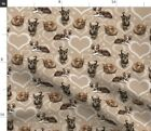 Chi Chis Chihuahua Chihuahuas Mexican Dog Dogs Fabric Printed by Spoonflower BTY