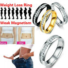 Magnetic Crystal Healthcare Weight Loss Ring Slimming Healthy Ring Jewelry T By