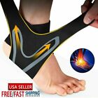 Sport Ankle Support Compression Plantar Fasciitis Sleeve Foot Wrap Strap Brace $5.99 USD on eBay