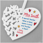 Special Teacher Gifts PERSONALISED Teacher Assistant Nursery Thank You Gifts