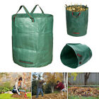 45/72GAL Heavy Duty Garden Waste Bag Weeds Leaves Bin Cutting Sack Carry Bag