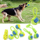 Dog Toy Chews Cotton Rope Knot Ball Grinding Teeth Odontoprisis Pet Toy Large WL