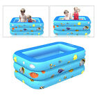 Inflated Family Swimming Pool Lounge Paddling Pools for Kids Tub Bathtub Toy