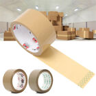 Parcel Strong Sealing Packer Packing Tape Buff Brown Clear Roller Tapes