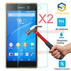 2Pcs 9H Premium Tempered Glass Film Screen Protector For Sony Xperia Phone