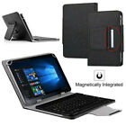 For T-Mobile Alcatel Joy Tab 8-inch Tablet 2019 Universal Keyboard Leather Case