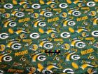 NFL GREEN BAY PACKERS Cotton Fabric - 1/2 Yard to 1 YARD - OOP $23.95 USD on eBay