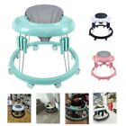 Baby Walker Push Along Walking First Step Activity Anti-o-leg Portable Baby Gear