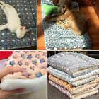 Dogs Flannel Pet Mat Puppy Sleeping Cover Soft Medium Warm Towel Cushion For Dog