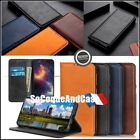 Case Leather Genuine Split Auto Absorbed Wallet Shell OnePlus 7T Pro