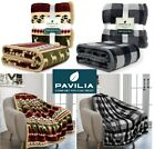 Christmas Blanket Microfiber Fleece Plaid Blanket Throw for Couch Sofa Bed Chair