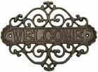 Sungmor Vintage Cast Iron Heart Shape Wall Mount Welcome Sign