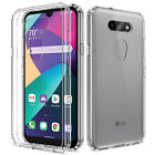 For LG Phoenix 5(AT&T)Case Clear Slim Thin With Pattern Cover / Screen Protector