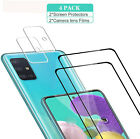 For Samsung Galaxy A51/A71 5G Clear Screen Protector Film+Camera Lens Protector