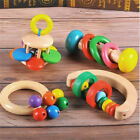 Educational Musical Wooden Hand Bell  Baby Child Toy Instrument F