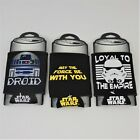 Star Wars Can Cooler Holder Koozie Sleeve Lot of 3 Loyal to the Empire Droid $11.99 USD on eBay