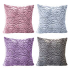 Pack of 2 Velvet Stretch Cushion Covers Home Throw Pillow Case Slipcovers 18