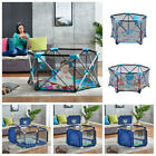 Kyпить Baby Play Yard Playpen Safety Activity Play Center Infant Indoor Outdoor Blue US на еВаy.соm