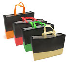Hot Reusable Shopping Eco Bags Shoulder Non Woven Grab Bag Pack Tote Bag Handbag