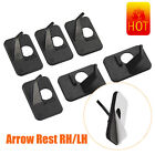 Arrow Rest Self-adhesive Left & Right Handed Recurve Bow Shooting Assit Tool 12X