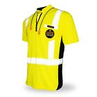 KwikSafety ENGINEER Hi Vis Reflective Short Sleeve ANSI Class 2 Safety Shirt
