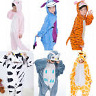 Popular Boy Girls Kids Cosplay Costume Animal Kigurumi Pajamas Sleepwear