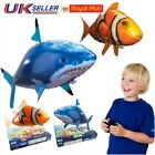 NEW Inflatable Blimp Toys Remote Control Flying Shark Fish RC Radio Air Swimmer
