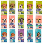 Beta Adult Puppy Senior Dry Dog Food ( Chicken, Turkey, Lamb, Salmon) 14KG, 2KG