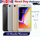 Apple Iphone 8 - 64gb 256gb - Unlocked Smartphone - Silver Grey Gold Red Colours