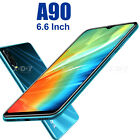 "Mobile Phones Unlocked Android 9.0 Cheap 6.6"" Dual Sim Free Smartphone 4 Core Uk"