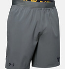 Under Armour Mens Project Rock Shorts 1346070-012 Pitch Gray / Black Nwt