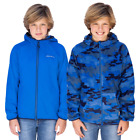 Eddie Bauer Youth Reversible Jacket, Blue/Blue Camo