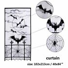 Halloween Table Cover Tablecloth Curtain Scarf  Spider Web Decoration Props