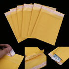 10/100pcs  Kraft Bubble Mailers Padded Postal Wrap Mail Envelopes Bags 6.7