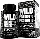 Wild Prebiotics and Probiotics for Women and Men - Breakthrough Digestive Enzyme