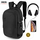 Anti-theft Waterproof Mens Backpack External Usb Charge Port 17