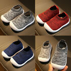 New Toddler Infant Kids Baby Boys Casual Slip On Soft Sole Sports Sneakers Shoes