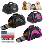 Portable Dog Cat Carrier Bag Pet Puppy Travel Bags Breathable Mesh Handbag USA