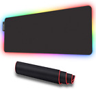 Soft Gaming Mouse Pad RGB Large, Oversized Glowing LED Extended Mousepad
