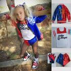 Kyпить Halloween Women Kids Girl Costume Suicide Squad Harley Quinn Cosplay Fancy Dress на еВаy.соm